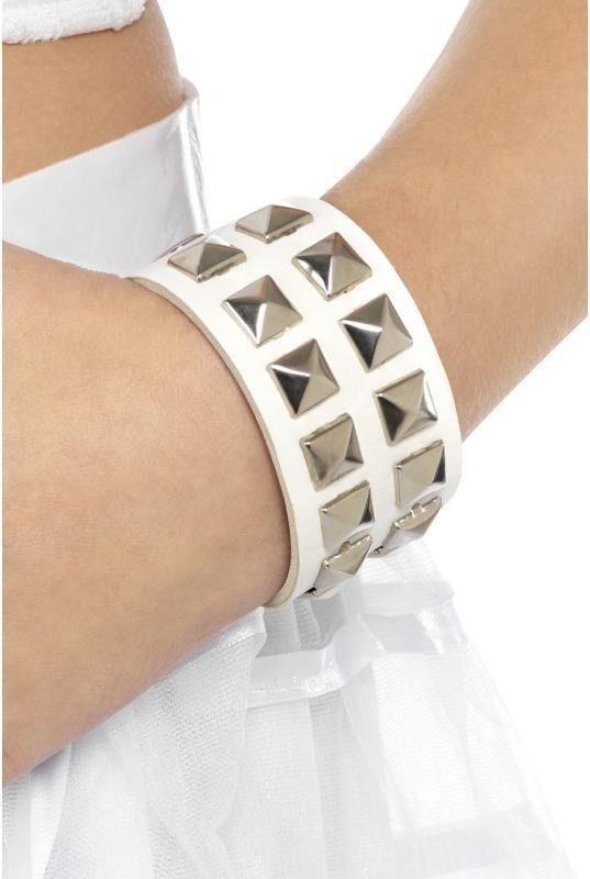 80'S Studded Wristband (1980S Fancy Dress Jewellery)