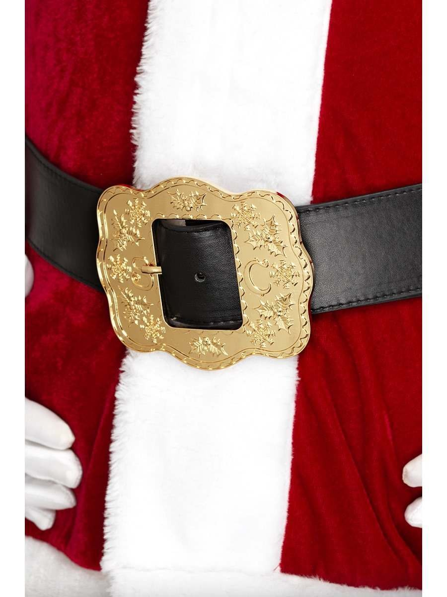 Deluxe Santa Belt Fancy Dress Accessory