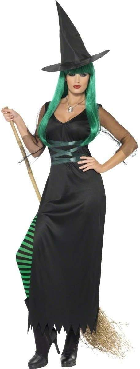 Glamour Witch Fancy Dress Costume Ladies (Halloween)