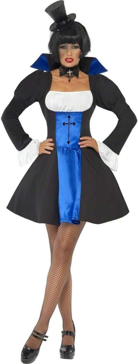 Countess Domini Fancy Dress Costume Ladies (Halloween)