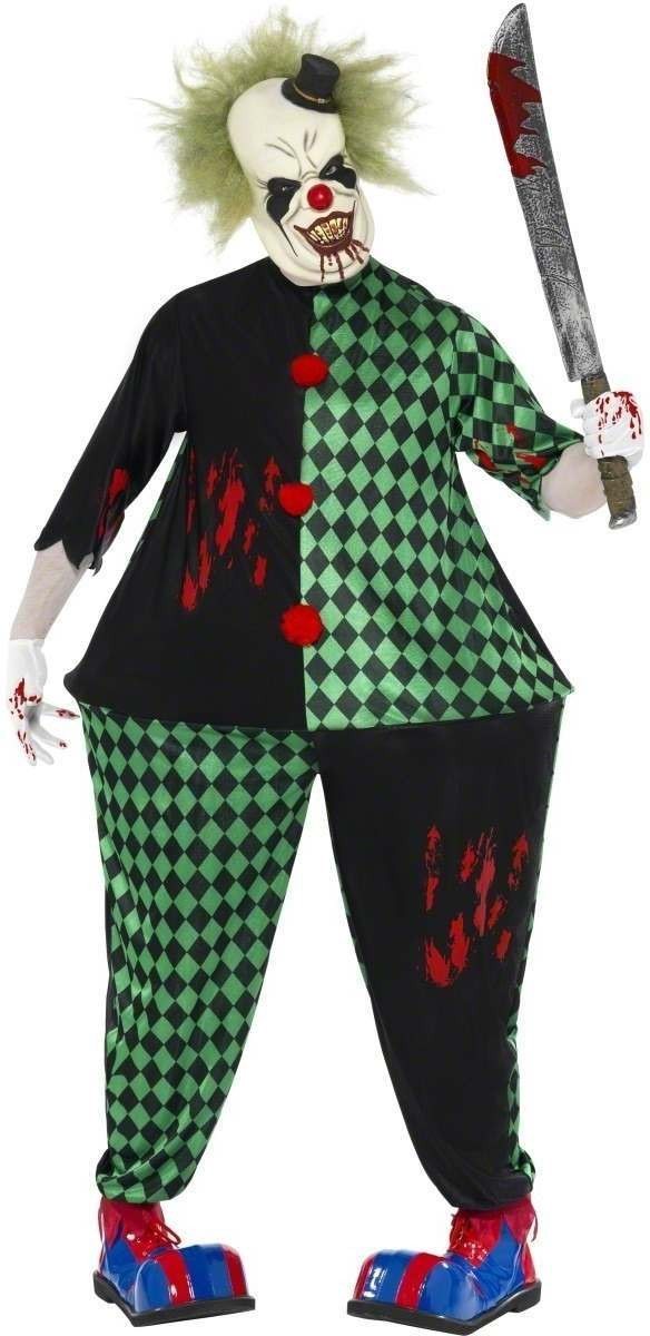 Fat Clown Fancy Dress Costume Mens (Clowns)