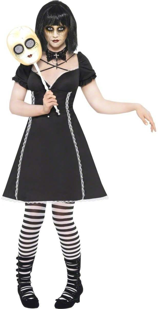 Horror Doll Fancy Dress Costume Ladies (Halloween)
