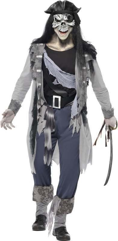 Haunted Swashbuckler Fancy Dress Costume