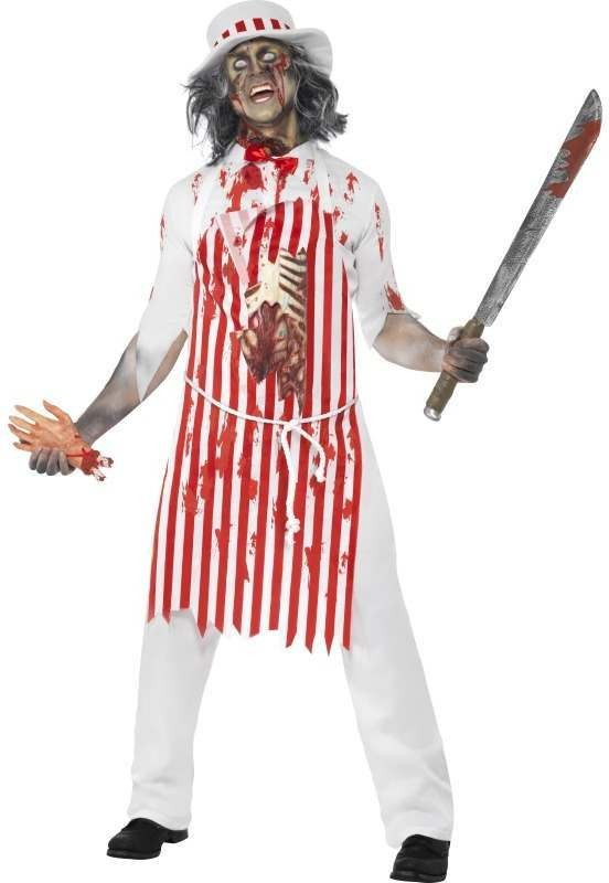 Hell'S Kitchen Bloody Butcher Fancy Dress Costume