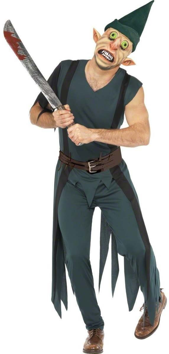 Freaky Peter Pan Fancy Dress Costume Mens (Fairy Tales)