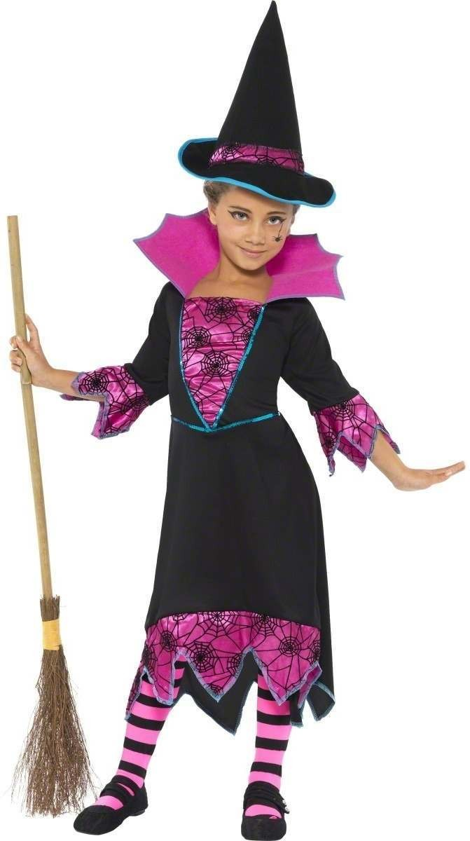 Medieval Witch Girl Fancy Dress Costume Girls (Halloween)