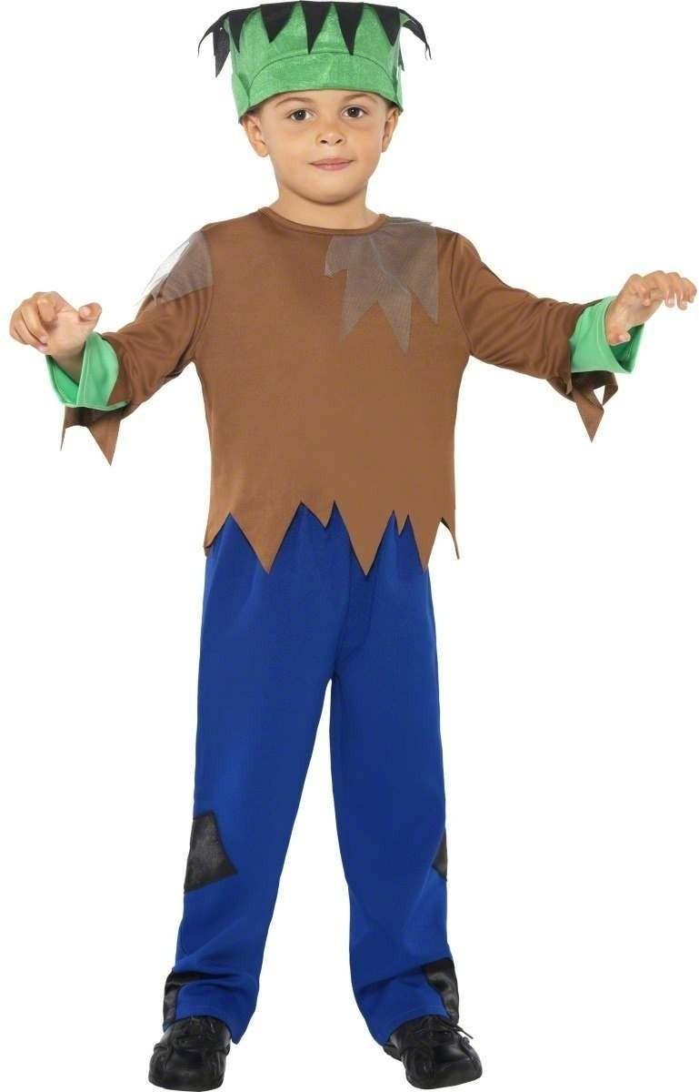 Monster Boy Fancy Dress Costume Age 7-9 Boys (Halloween)