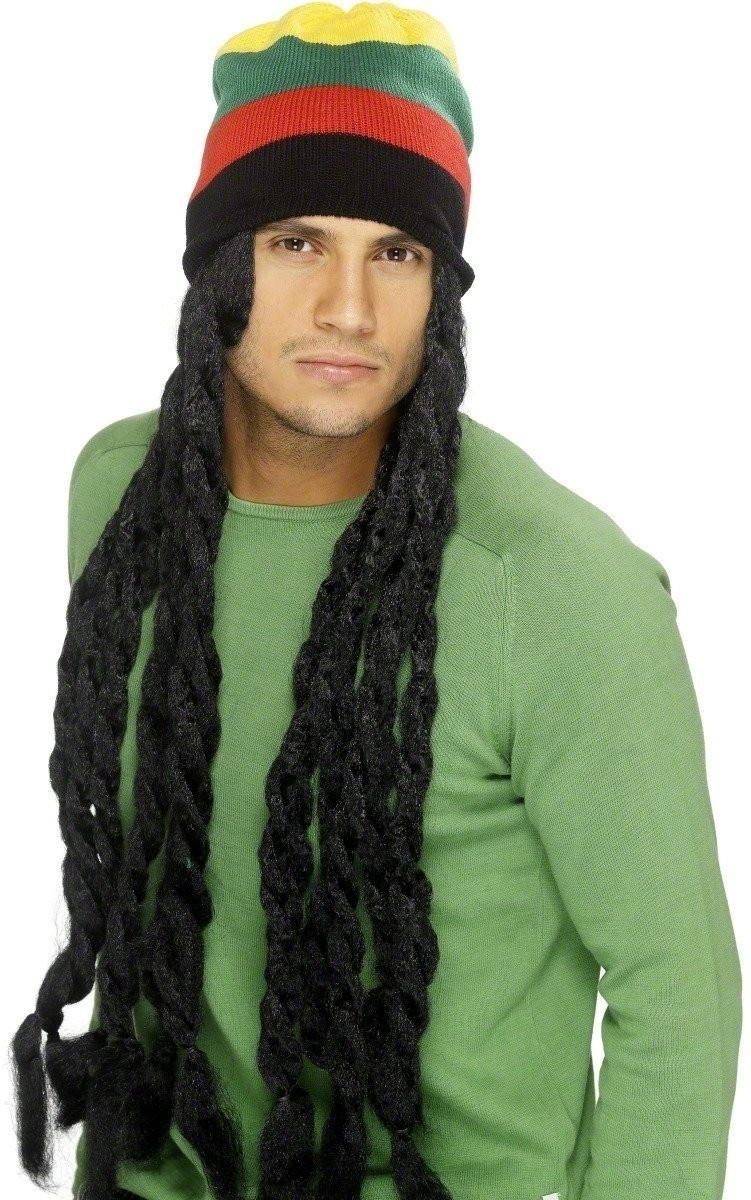 Rasta Hat - Fancy Dress (Hawaiian)