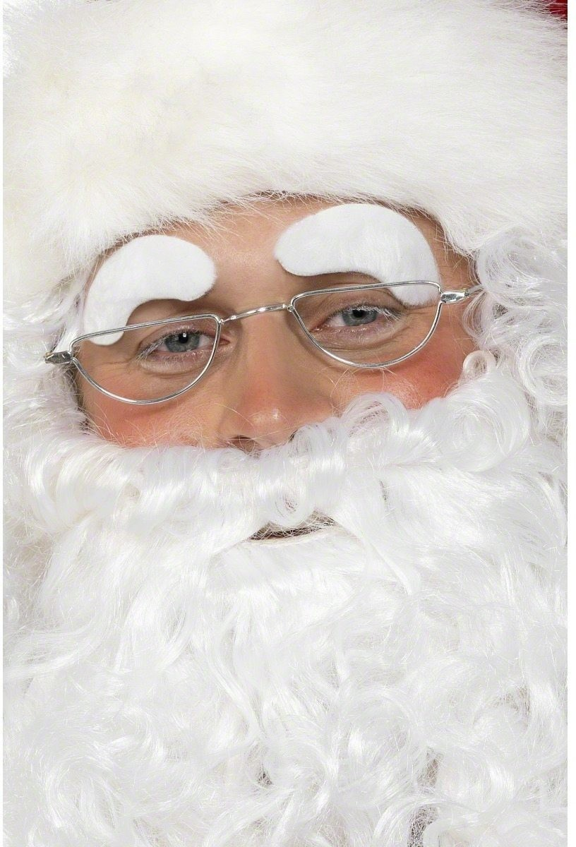 Santa Eyebrows - Fancy Dress Mens (Christmas)