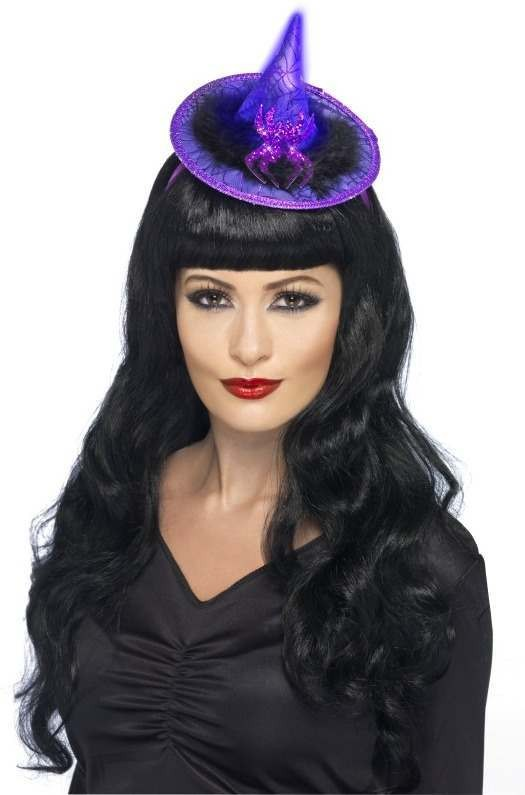 Light Up Witches Hat (Halloween Hats)