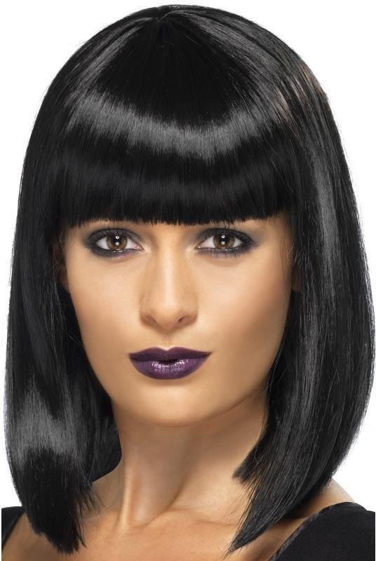 R'N'B Star Wig (Music Fancy Dress Wigs) - Black