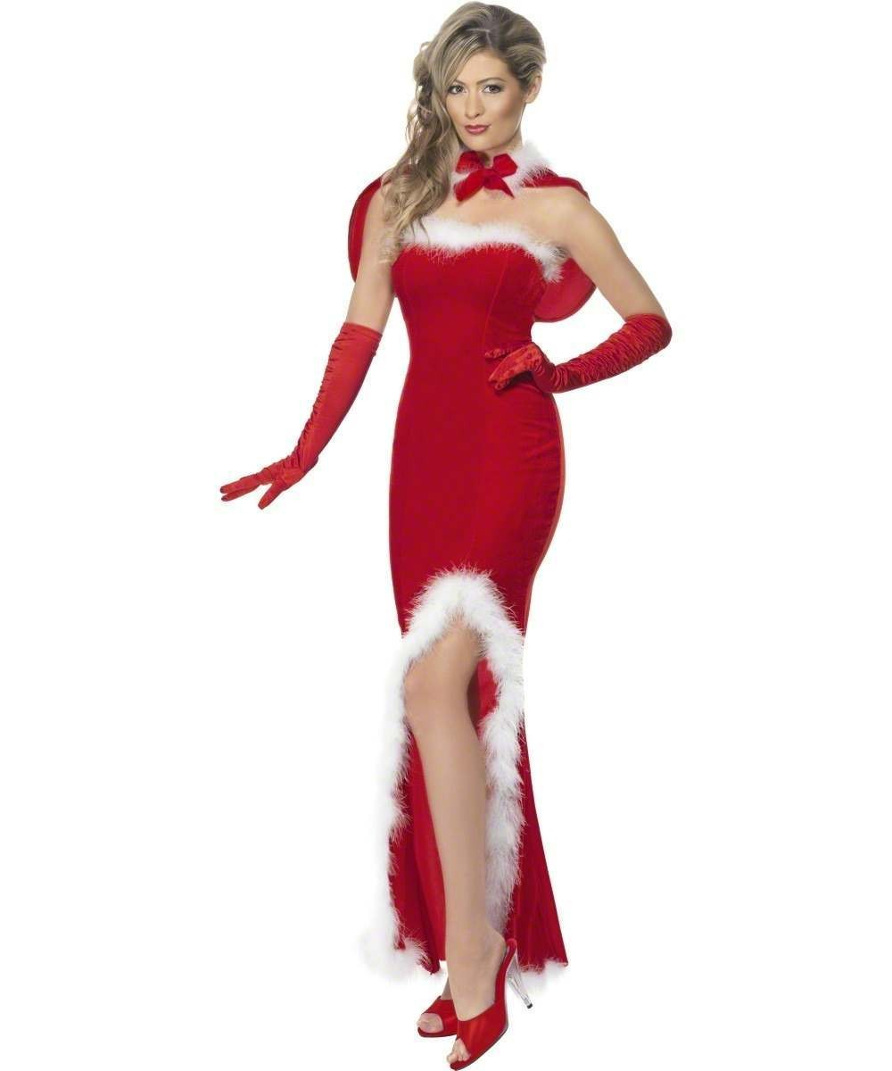 Santa'S Siren Fancy Dress Costume