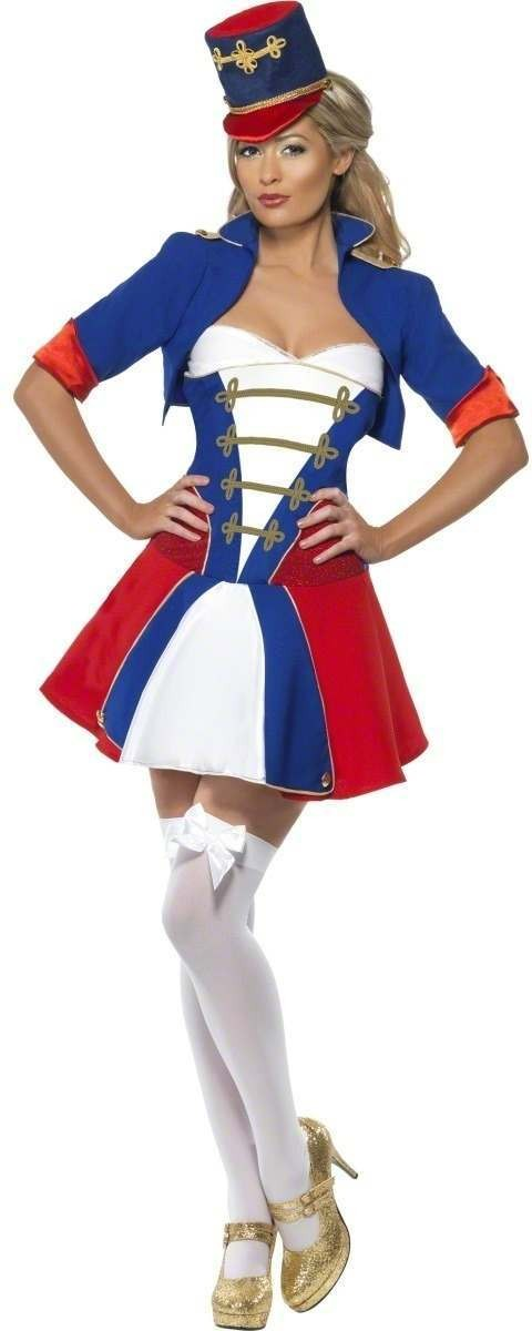 Fever Naughty Nutcracker Fancy Dress Costume Ladies