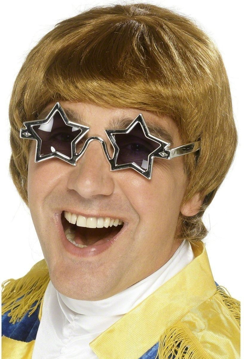 Star Man Set - Fancy Dress Mens (1970S) - Blond