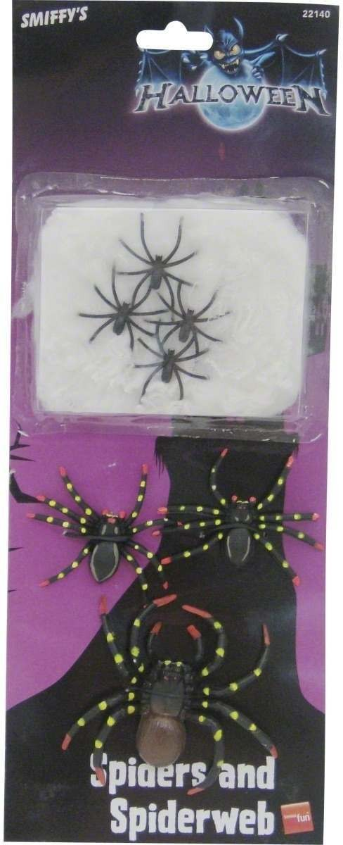 Spiders And Spiders Web - Fancy Dress (Halloween)