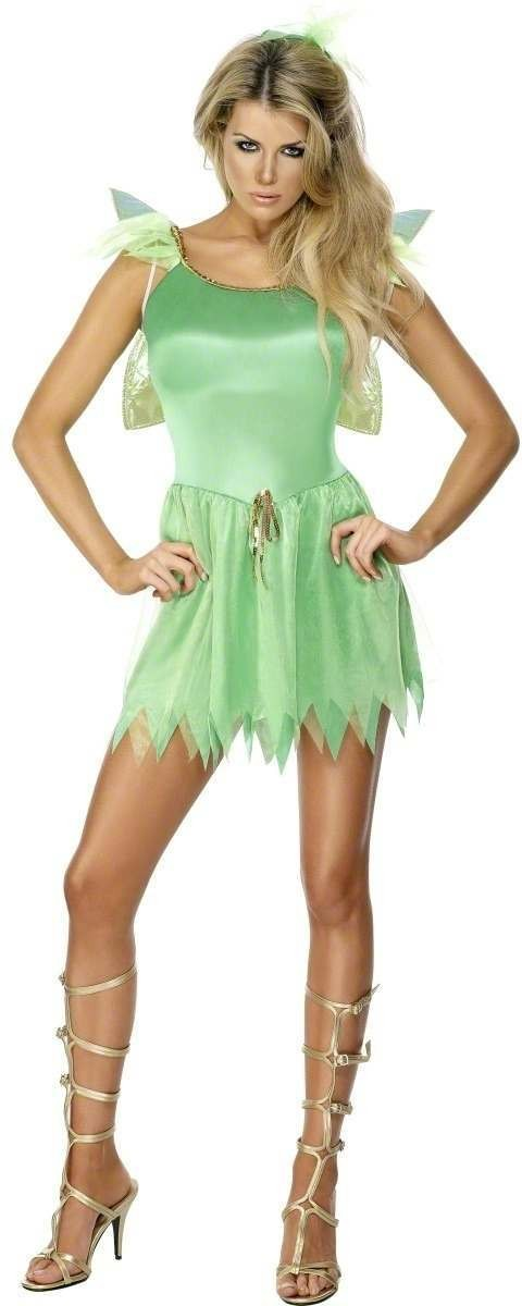 Woodland Fairy Fancy Dress Costume Ladies (Fairy Tales)