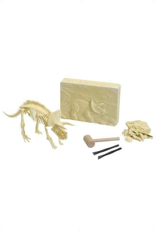 Dinosaur Excavation Kit, Triceratops (Fancy Dress)