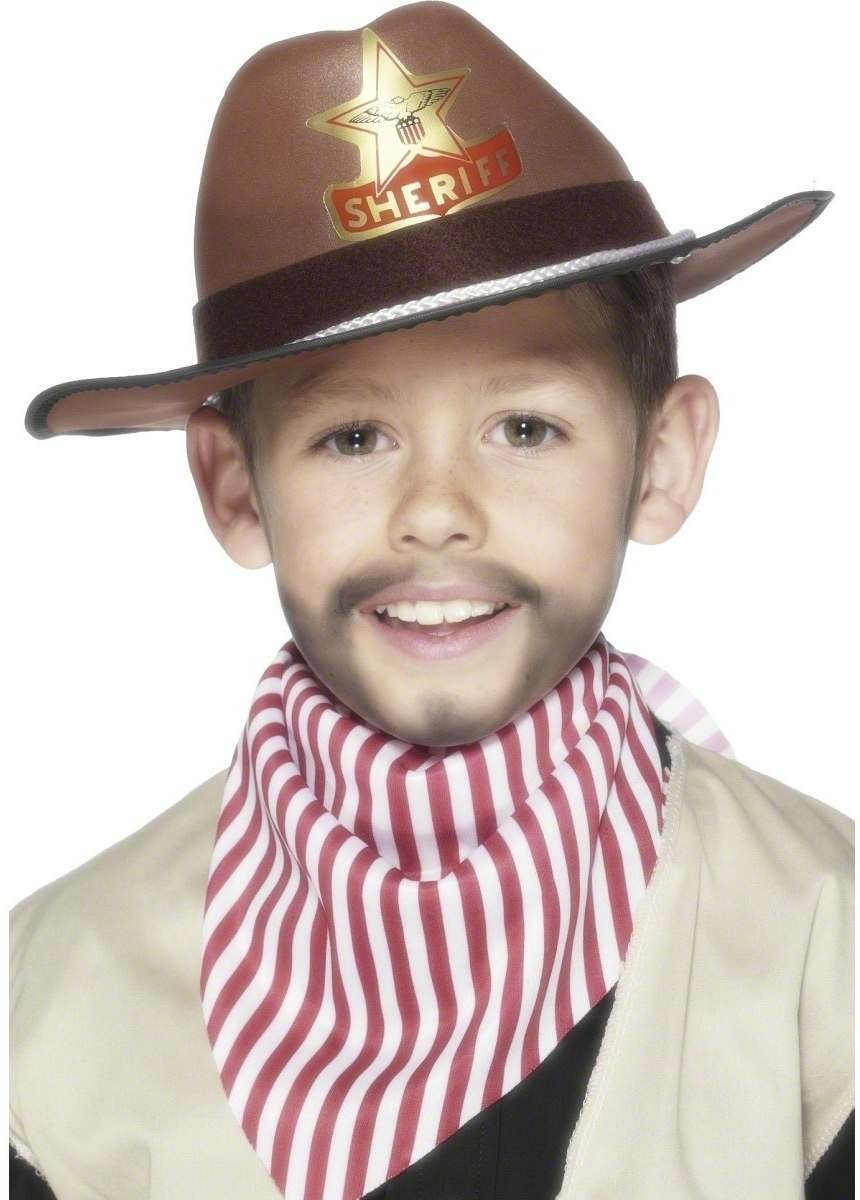 Cowboy Hat - Fancy Dress Boys (Cowboys/Indians)