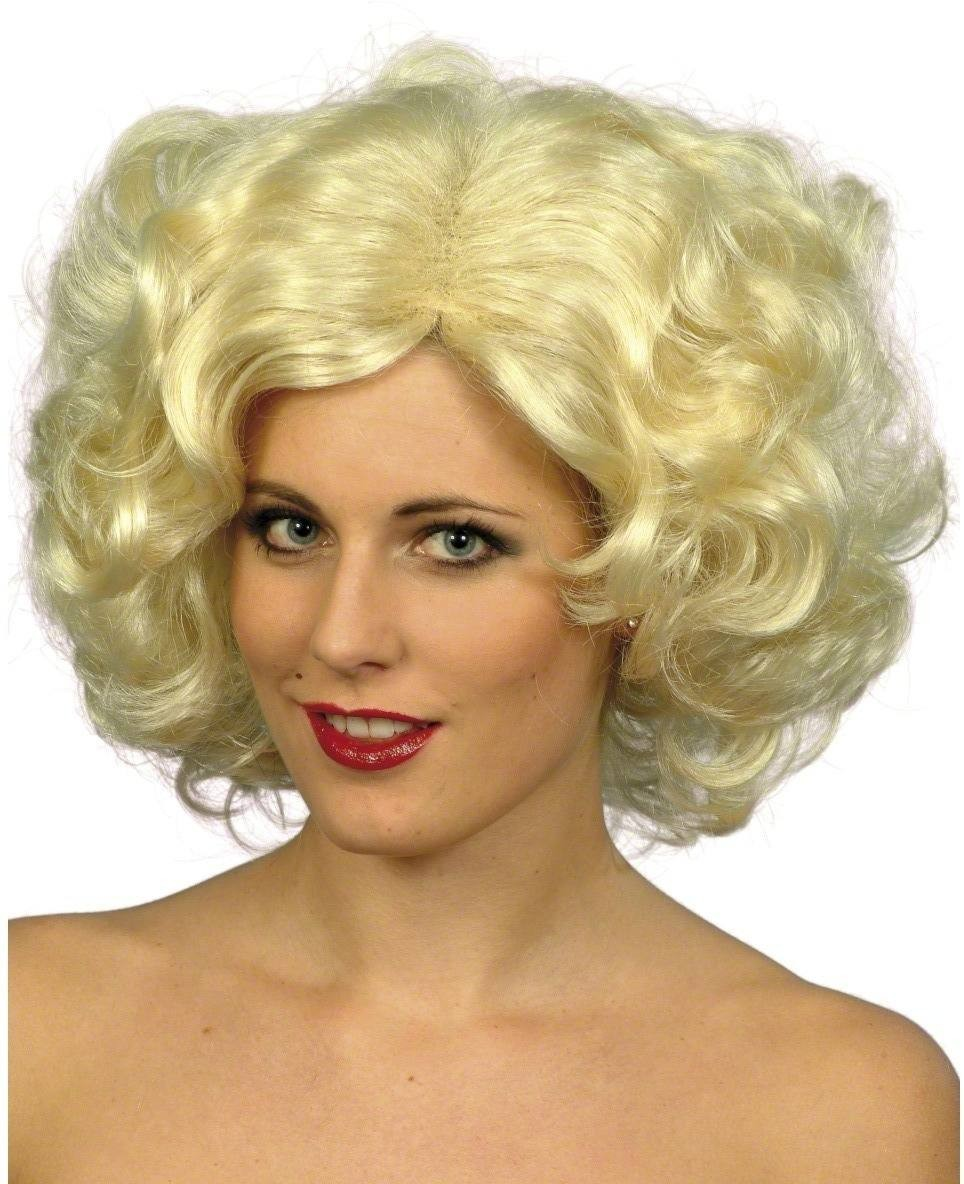 Blonde Bombshell Wig - Fancy Dress Ladies - Blonde