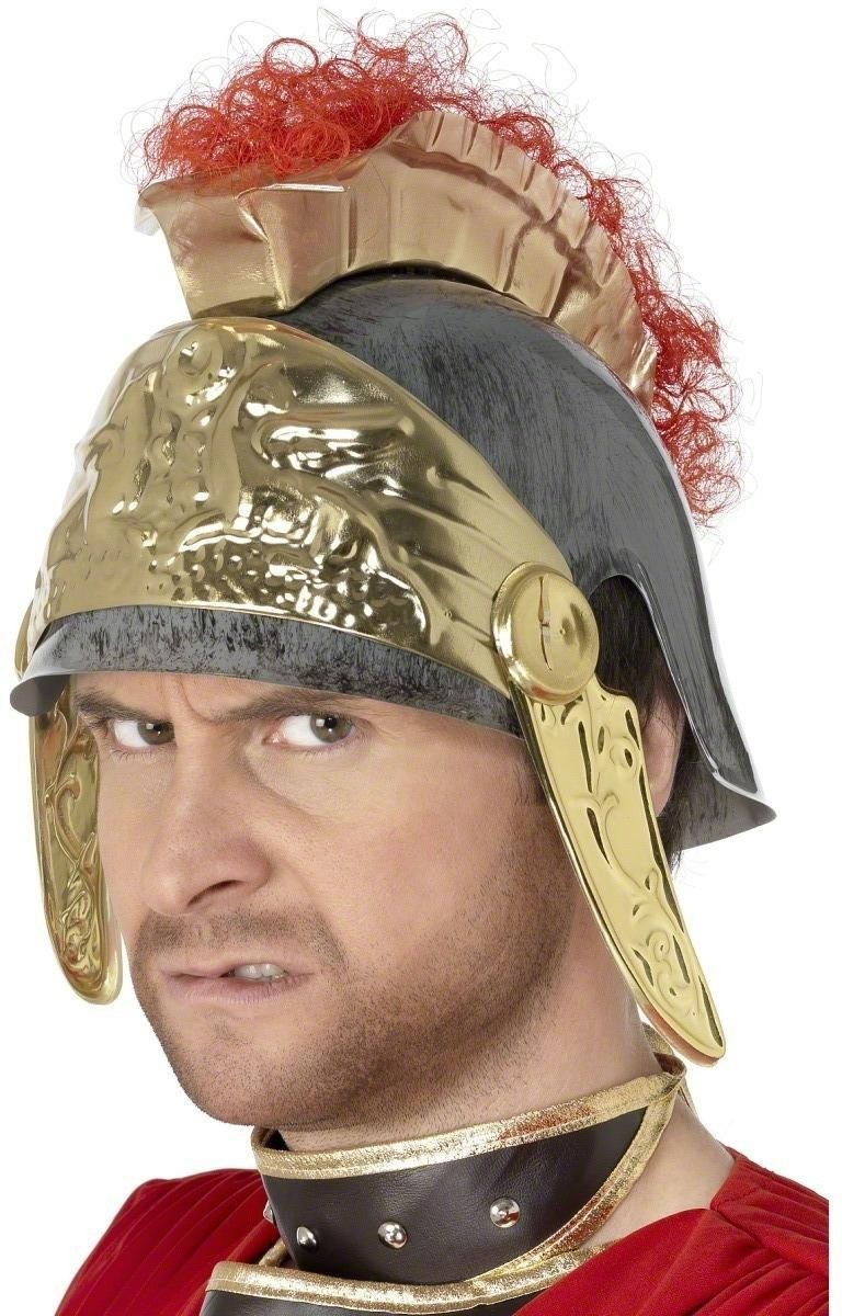 Roman Helmet - Fancy Dress Mens (Medieval)