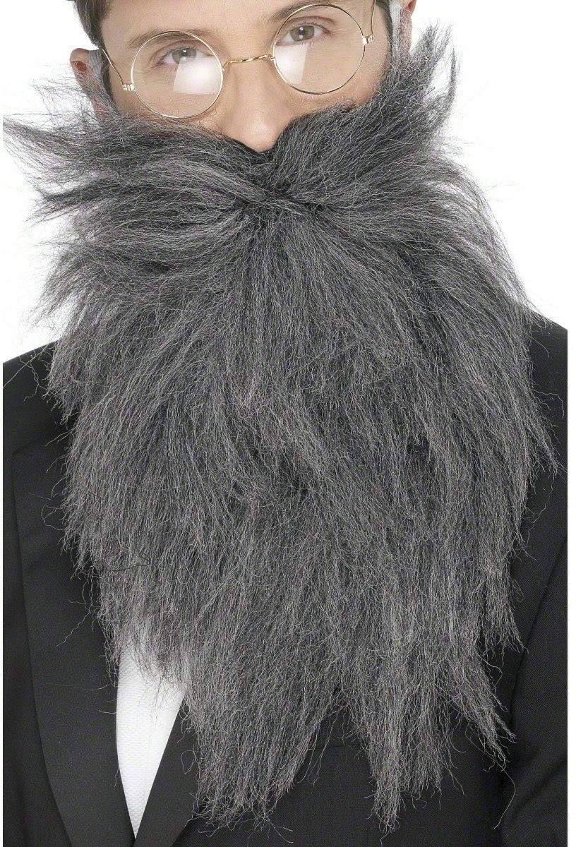 Long Beard And Tash - Fancy Dress Mens (Animals)