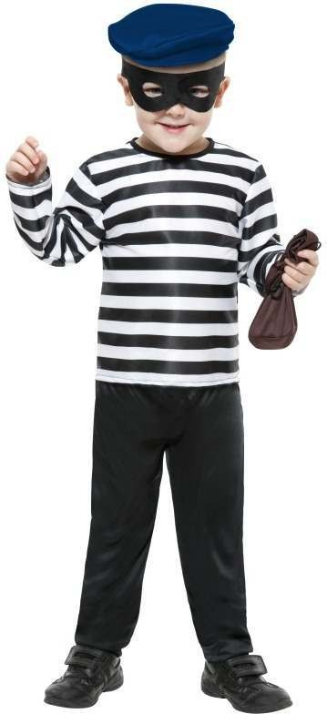 Little Burglar Fancy Dress Costume