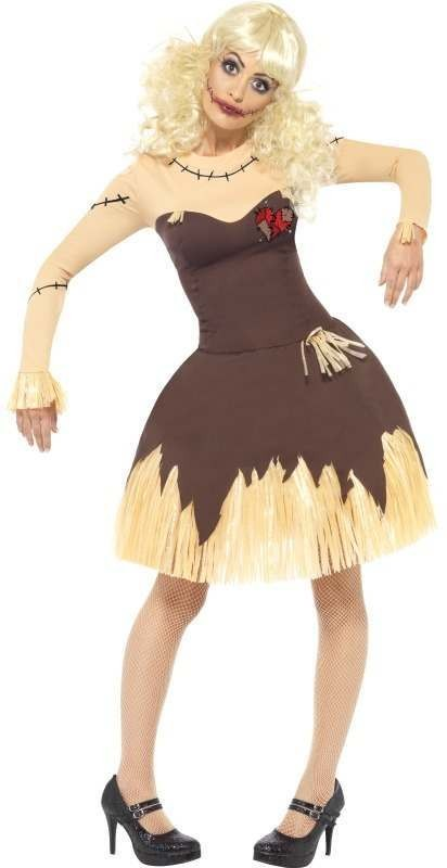Voodoo Doll Fancy Dress Costume