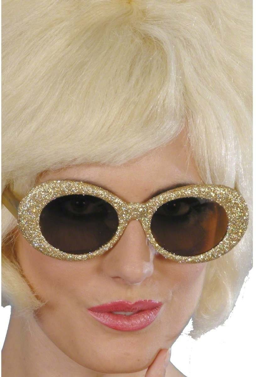 50S Fantastic Glitter Specs - Fancy Dress Mens (1950S)