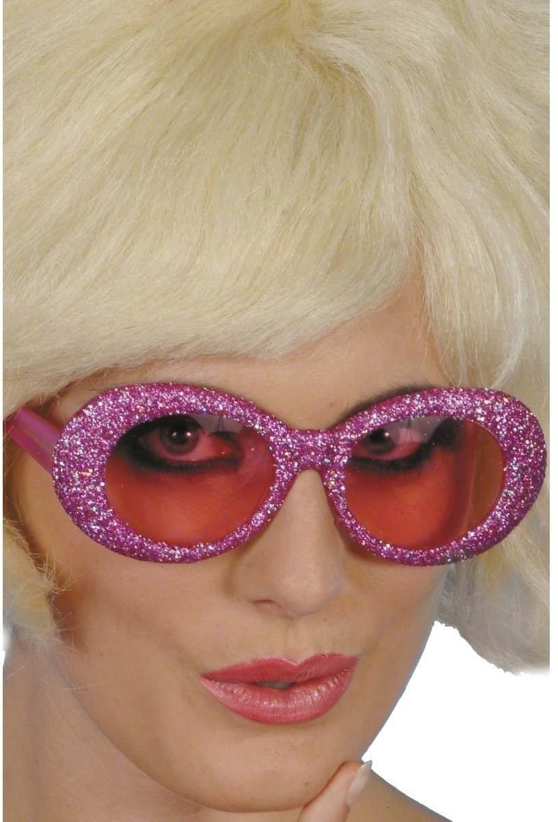 Fantastic Glitter Specs - Fancy Dress Mens (1950S)