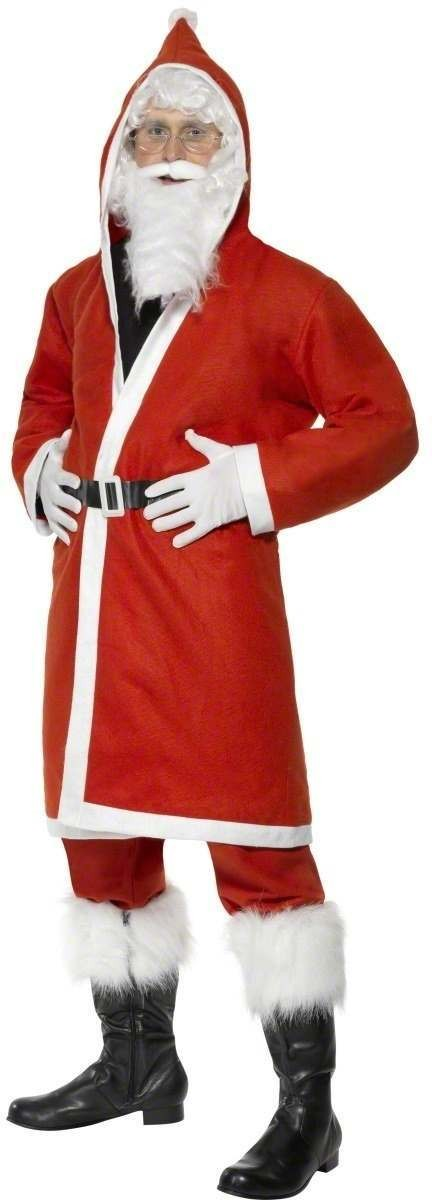 Father Christmas Fancy Dress Costume Mens (Christmas)