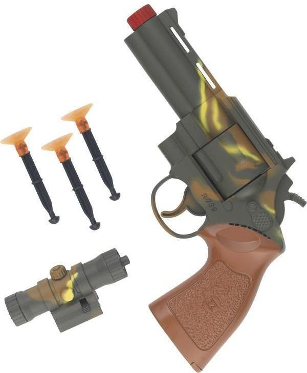 Peace Keepers, Gun, Bullets And Sight Set (Army Fancy Dress Guns)
