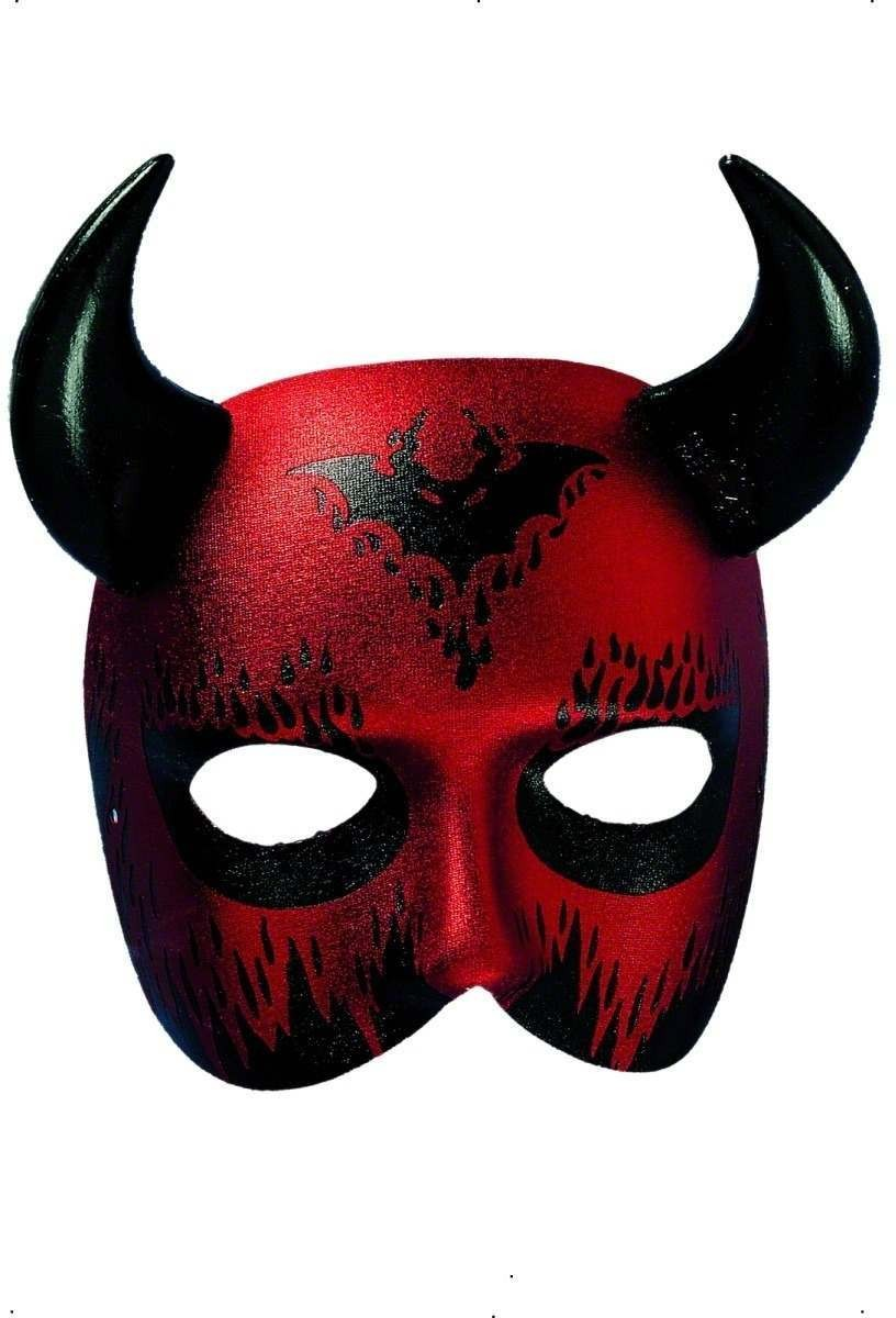Devil Caronte Eyemask - Fancy Dress (Halloween)