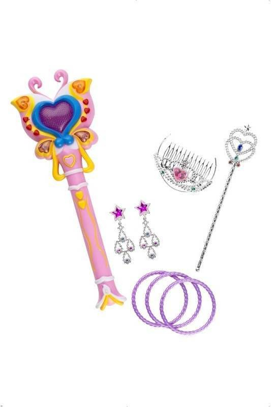 Magic Princess Light Up Wand (Fancy Dress)