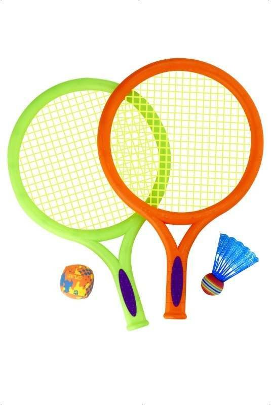 Racket, Balls And Shuttlecock Set (Fancy Dress)