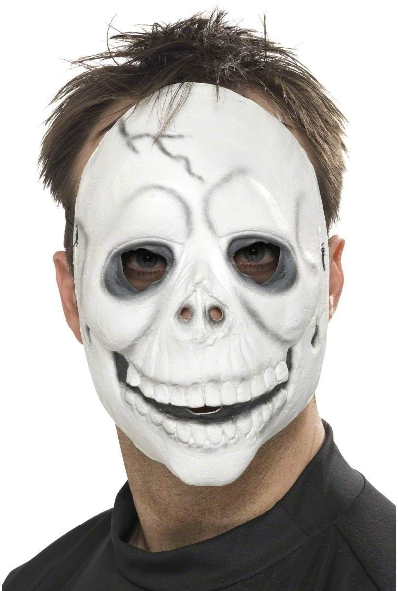Smiling Skull Mask - Fancy Dress (Halloween)
