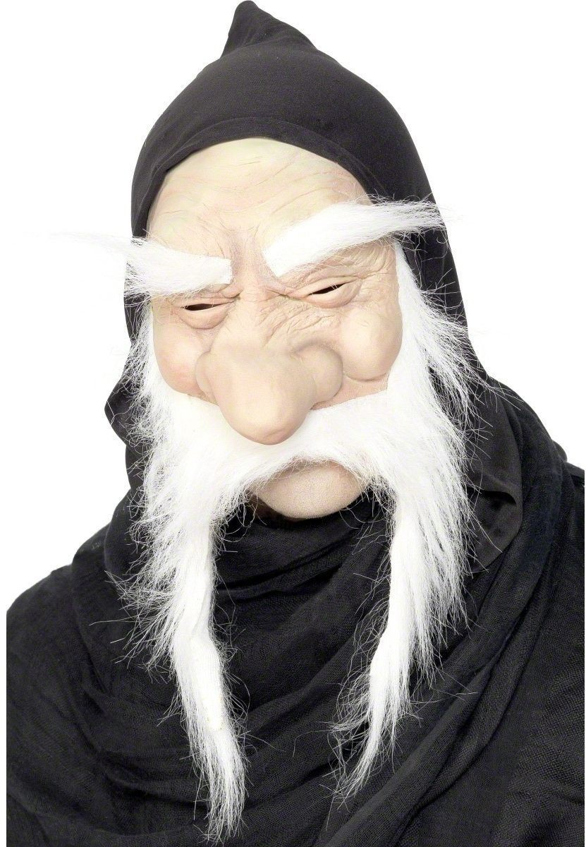 Wizard Mask - Fancy Dress Mens