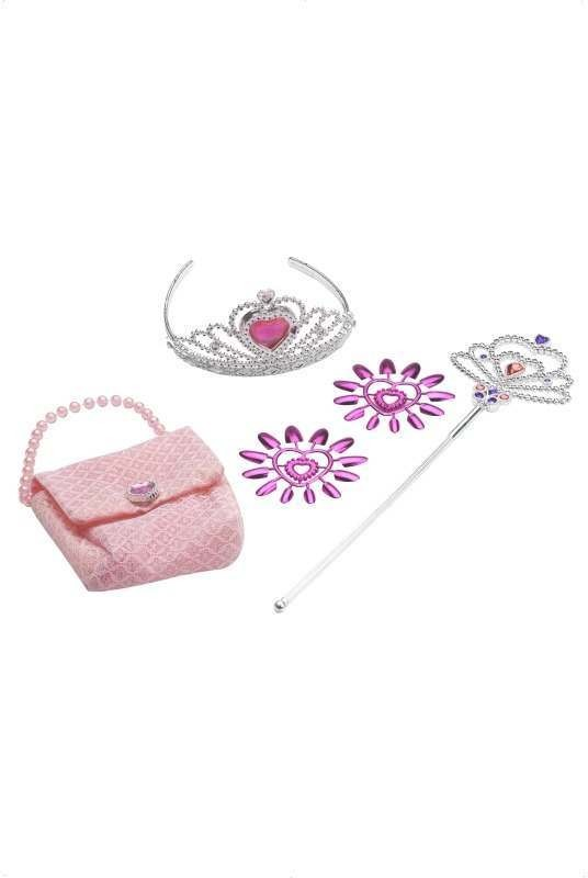 Princess Accessory Set With Handbag (Fancy Dress)