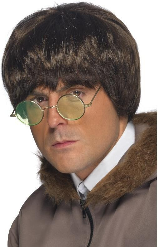 Britpop Wig (1990S Fancy Dress Wigs) - Brown