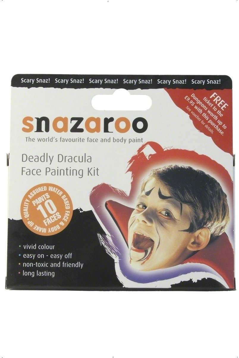 Deadly Dracula Face Painting Kit