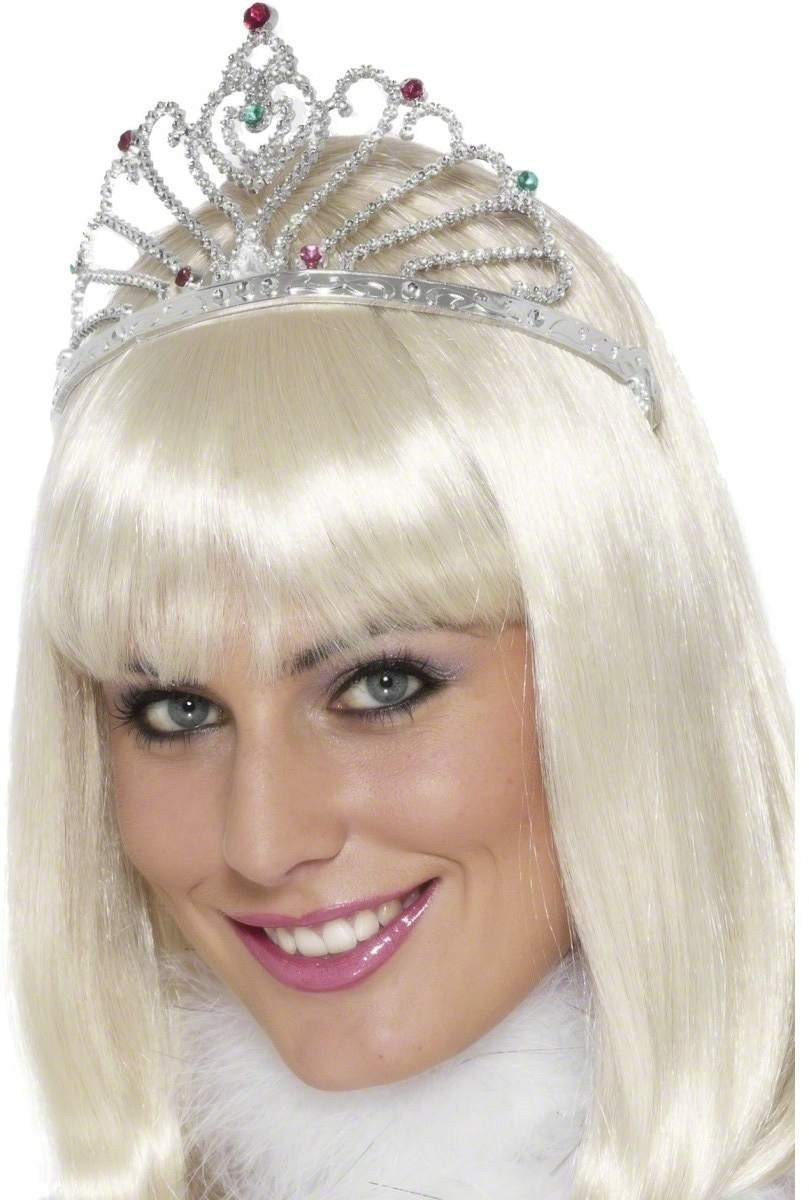 Fan Design Tiara - Fancy Dress Ladies