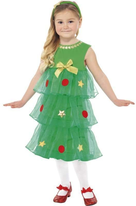 Little Christmas Tree Tutu Fancy Dress Costume