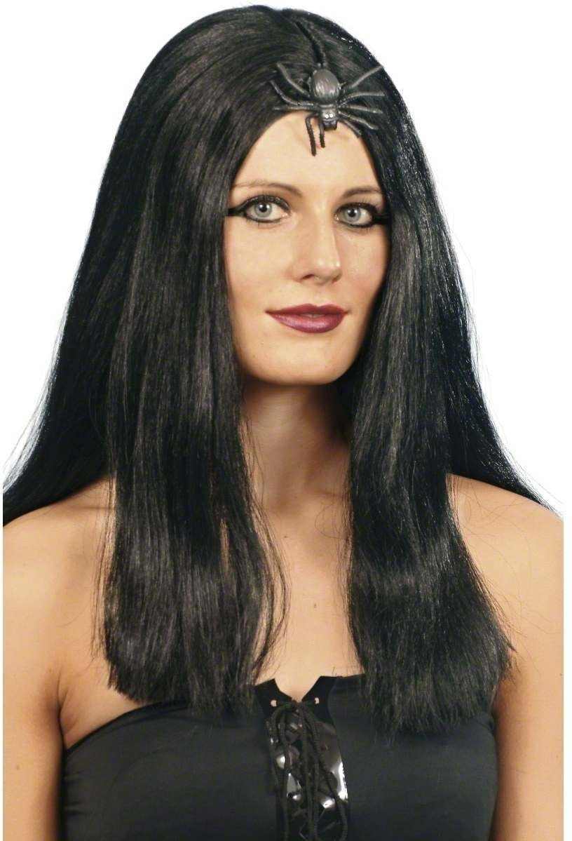 Widow Wig - Fancy Dress Ladies (Halloween) - Black