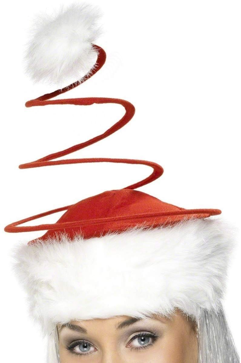 Santa Hat With Spring - Fancy Dress (Christmas)