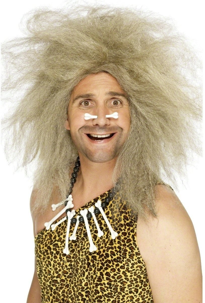 Caveman Wig - Fancy Dress Mens (Cavemen) - Blond