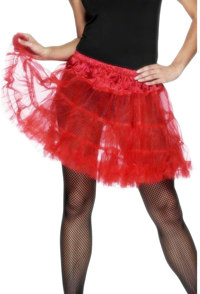 Petticoat Red - Fancy Dress Ladies