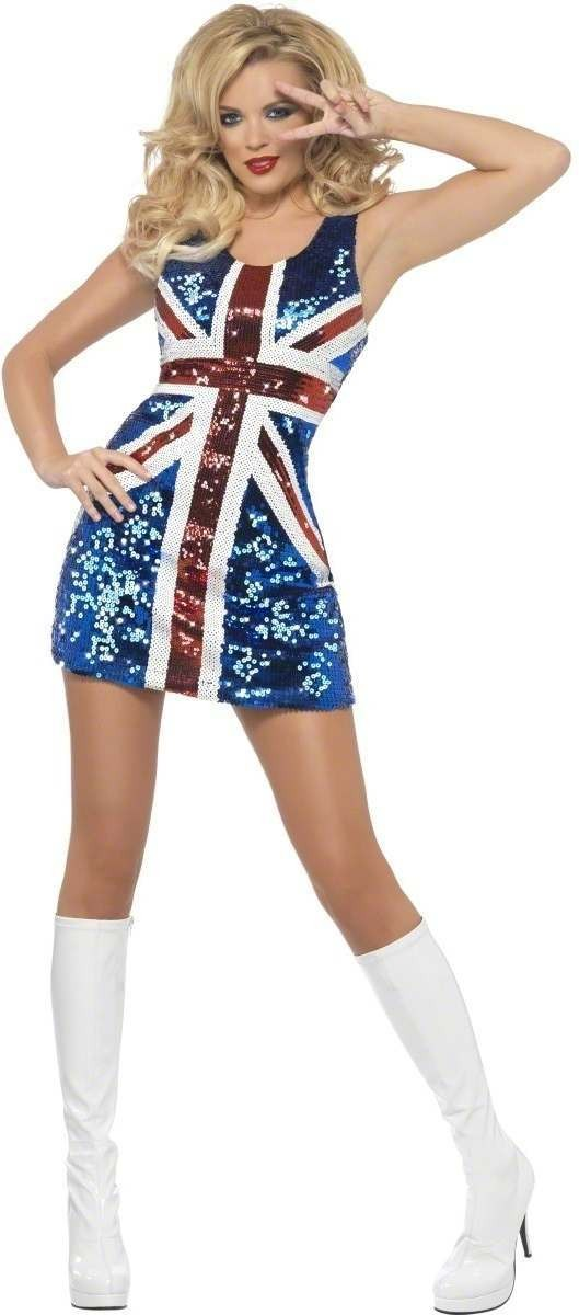 Fever All That Glitters Rule Britannia Fancy Dress