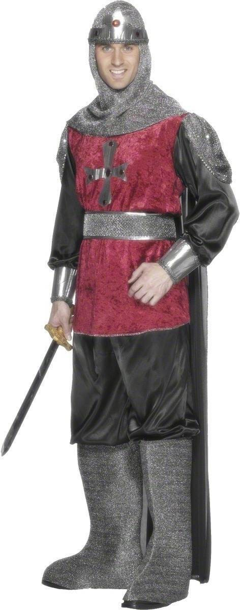 Medieval Knight Fancy Dress Costume Mens (Medieval)