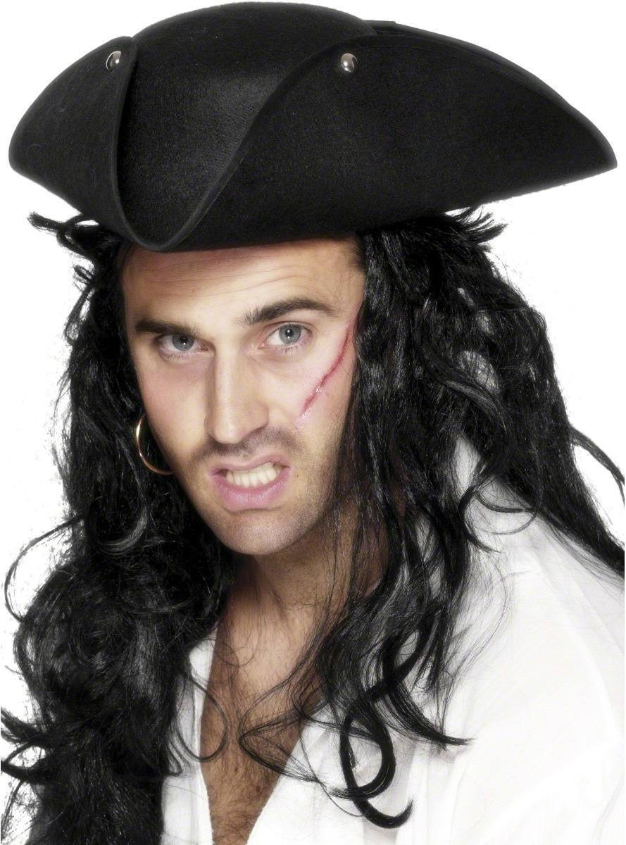 0eba656fb16 Buy Pirate Tricorn Hat - Fancy Dress (Pirates) - Largest online fancy dress  range in the UK - Price Guarantee   FREE Delivery