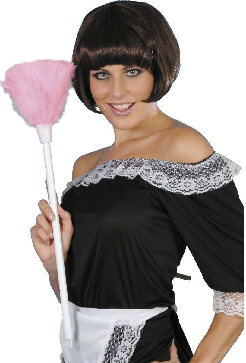 Keep It Clean Feather Duster - Fancy Dress Ladies