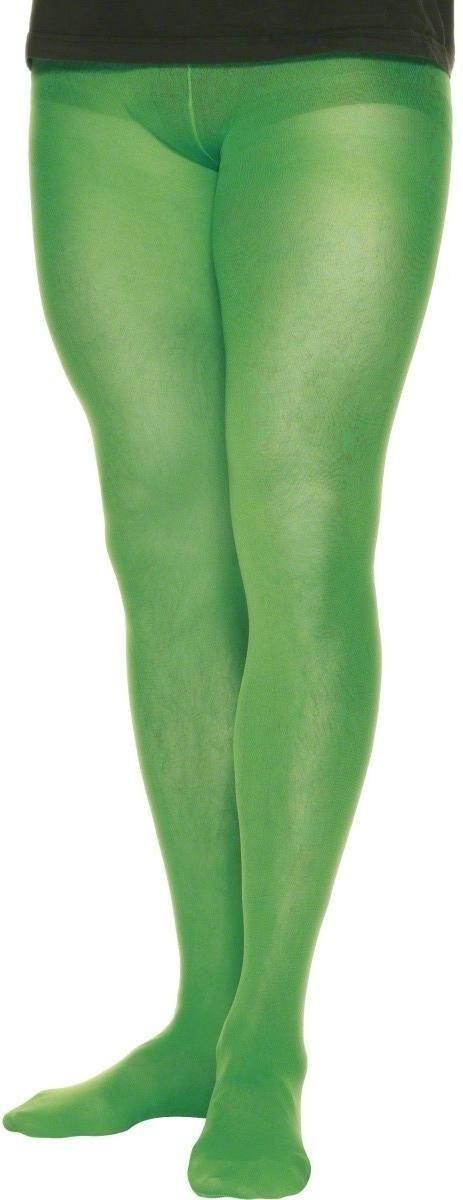 Tights Green Mens - Fancy Dress